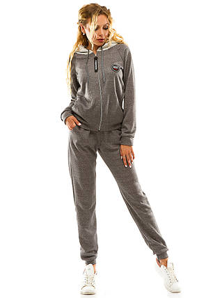 Спортивный костюм 5712 темно-серый размер 50-52, фото 2