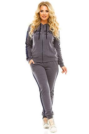 Спортивный костюм 5724 джинс размер 54-56, фото 2