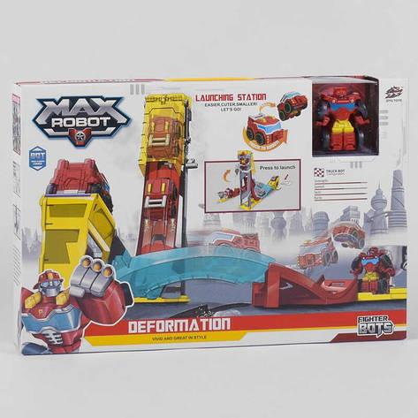 Автотрек L 019-12 (36) машинка-робот, в коробке, фото 2