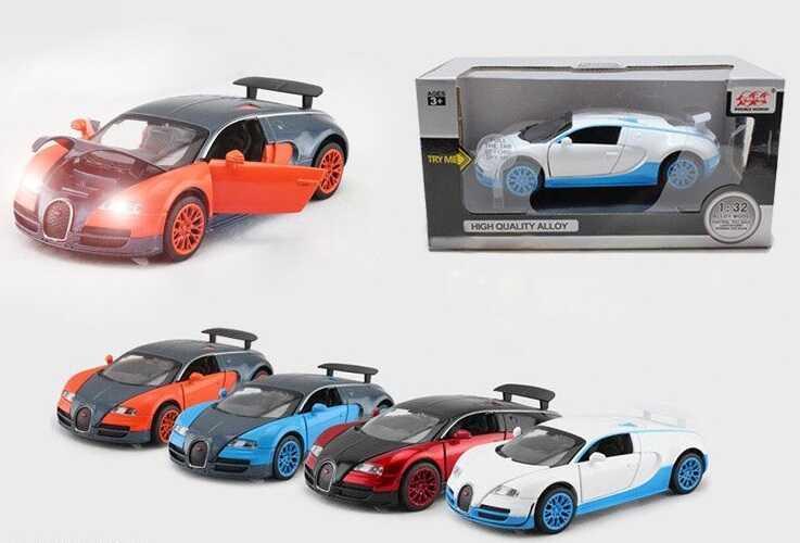 """Машина металлическая 52955 (72) """"Auto Expert"""", 4 вида, в коробке"""