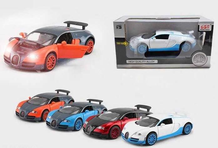 """Машина металлическая 52955 (72) """"Auto Expert"""", 4 вида, в коробке, фото 2"""