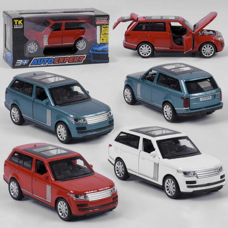"""Машина металлическая 72655 (72/2) """"Auto Expert"""", 3 вида, инерция, свет, звук, открываются двери, в коробке"""