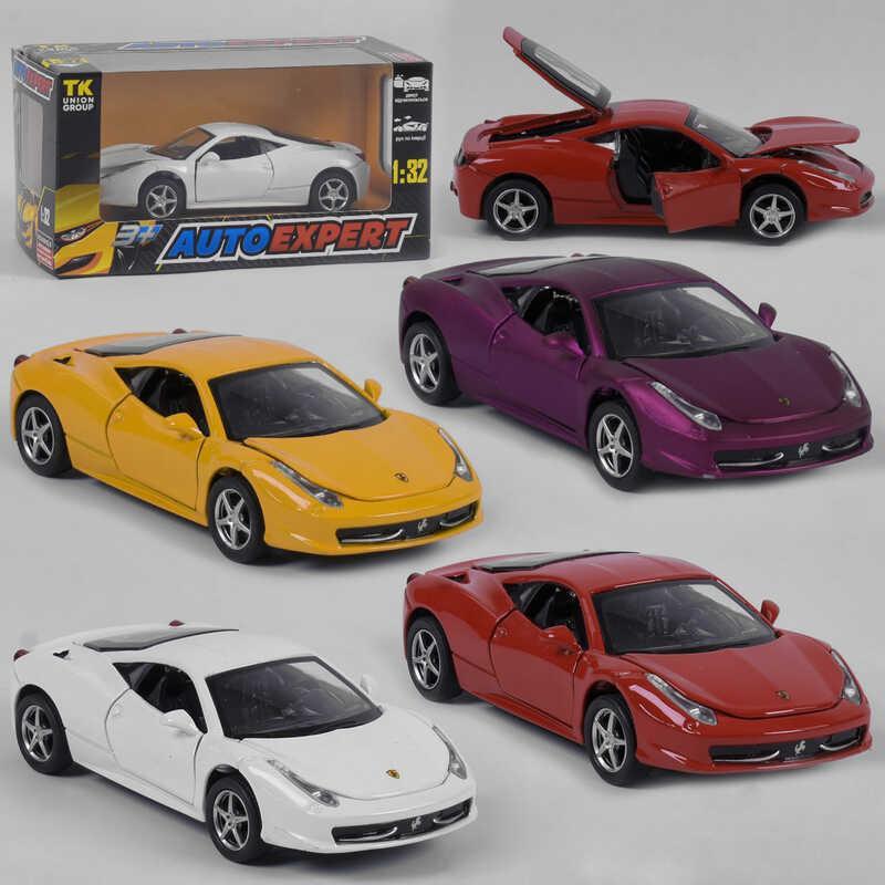 """Машина метталопластик LF - 27029 (72/2) """"Auto Expert"""", 4 цвета, инерция, свет, звук, открываются двери, в коробке"""
