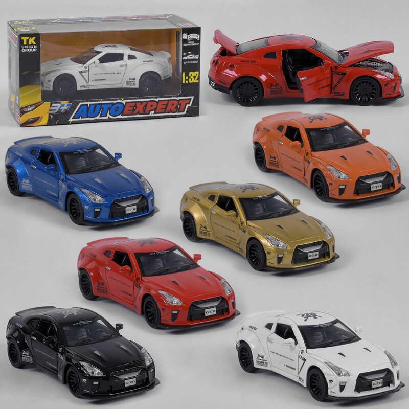 """Машина метталопластик LF - 38071 (72/2) """"Auto Expert"""", 6 цветов, инерция, свет, звук, открываются двери, в коробке"""