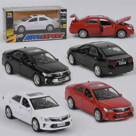 """Машина метталопластик LF - 79509 (72/2) """"Auto Expert"""", 3 цвета, инерция, свет, звук, открываются двери, в коробке, фото 2"""