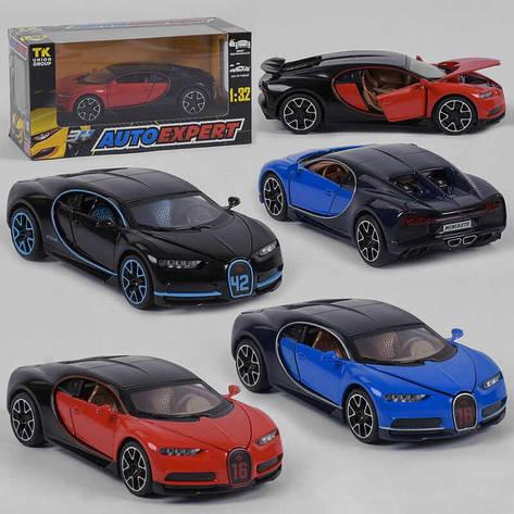 """Машина метталопластик LF - 83880 (72) """"Auto Expert"""", 3 цвета, инерция, свет, звук, открываются двери, а коробке , фото 2"""