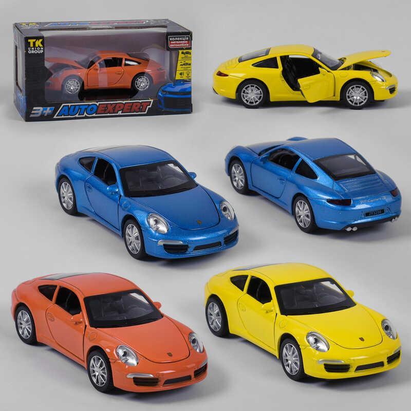"""Машинка 25005 (72/2) """"Auto Expert"""", 3 цвета, свет, звук, инерция, открываются двери, в коробке"""