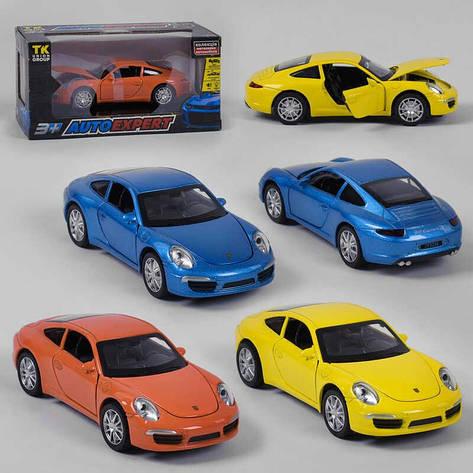 """Машинка 25005 (72/2) """"Auto Expert"""", 3 цвета, свет, звук, инерция, открываются двери, в коробке, фото 2"""