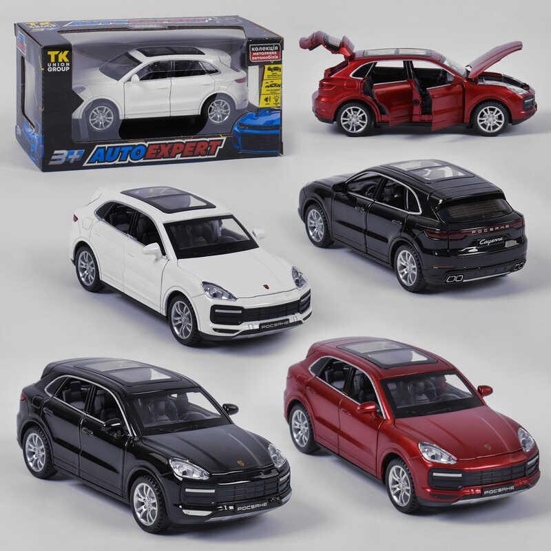 """Машинка 41009 (72/2)  Auto Expert"""", 3 цвета, свет, звук, инерция, открываются двери, в коробке"""
