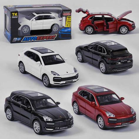 """Машинка 41009 (72/2)  Auto Expert"""", 3 цвета, свет, звук, инерция, открываются двери, в коробке, фото 2"""