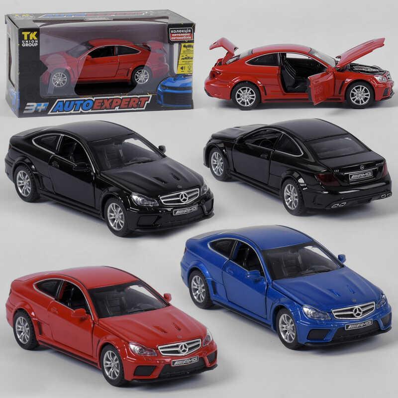 """Машинка 76474 (72/2)  """"Auto Expert"""", 3 цвета, инерция, свет, звук, открываются двери, в коробке"""