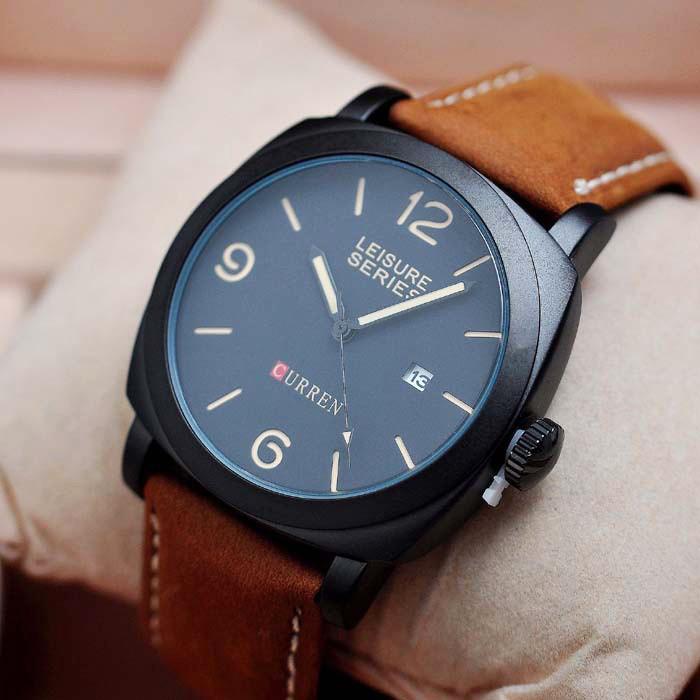 Мужские часы Curren 8158 black