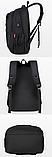 Рюкзак городской + USB, фото 4
