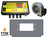 Комплект автоматики для твердотопливного котла Viadrus, Atos+WPA 06+переходник