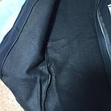 Кардиган - мантия модный красивый теплый стильный чёрного цвета  на замке с надписями и с капюшоном., фото 2