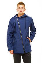 Мужская куртка 347 синяя 46