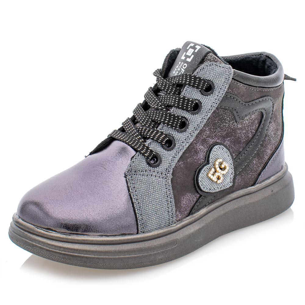 Ботинки для девочек Jong golf 27  платина 981125