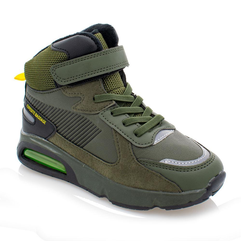 Ботинки для мальчиков Jong golf 28  хаки 981129