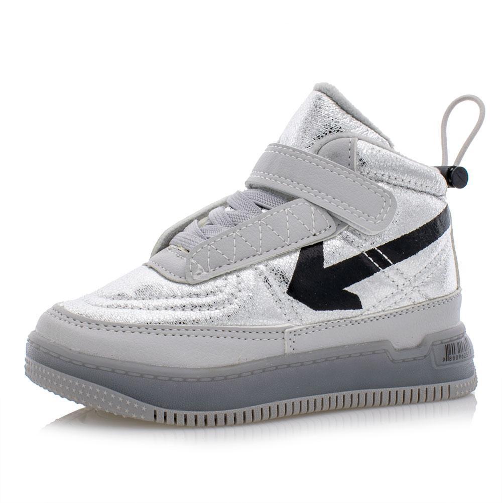 Ботинки для девочек Jong golf 27  серебряные 981126