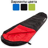 Спальный мешок кокон Presto Acamper 300g/m2 спальник туристический Черный