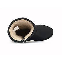 Напівчоботи жіночі зимові дутіки чорні 38 р. - 24,5 см Progres 1241501754, фото 3