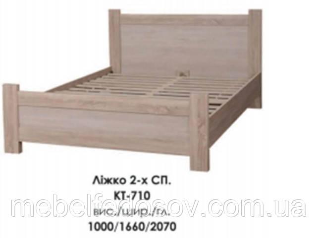 купить кровать двухспальная КТ-710 Меркурий БМФ
