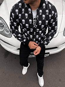 Мужская куртка бомбер Skul Trend