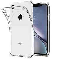 Прозрачный Чехол iPhone XR (ультратонкий силиконовый) (Айфон ХР Икс Эр)
