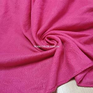 Ткань флис малиновый