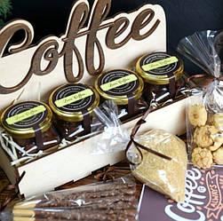 Подарочный набор 4 вида Coffe