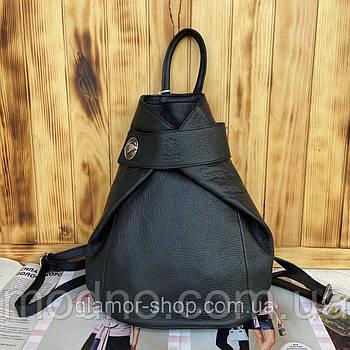 Жіночий стильний шкіряний італійський рюкзак Vera Pelle