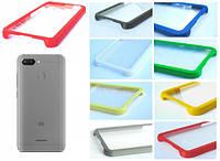 TPU Бампер Xiaomi Redmi 6 (прозрачный)