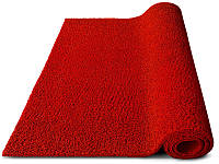 Ковер грязезащитный петлевой Moss красный С резиновым кантом, 40х60см.