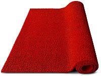 Ковер грязезащитный петлевой Moss красный С резиновым кантом, 90х120см.