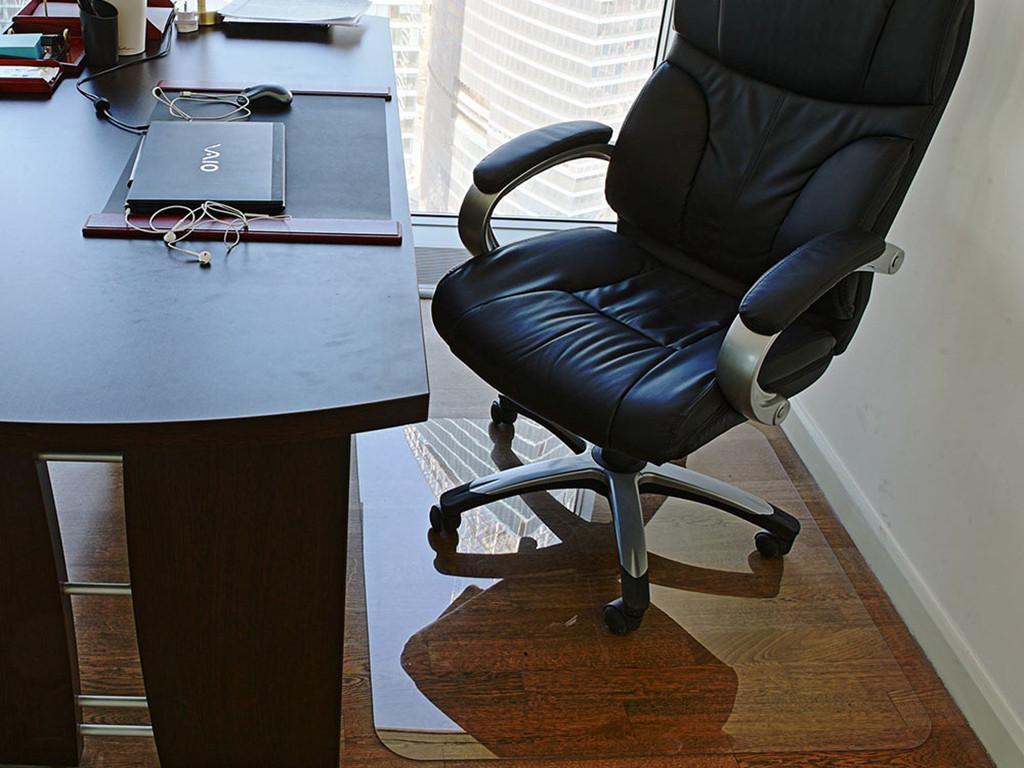 Коврик под кресло для защиты пола прозрачный 70х125см. Толщина 1,0мм