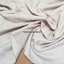 Ткань флис бежевый, фото 3