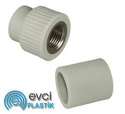 Поліпропіленові муфти Evci Plastik