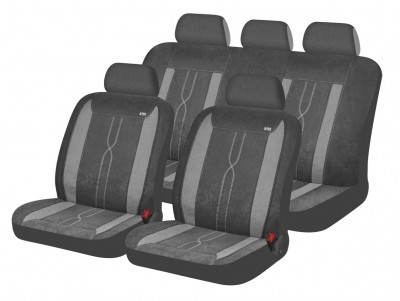 Чехлы для автомобильных сидений Hadar Rosen LEADER Темно-Серый Светло-Серый 10412