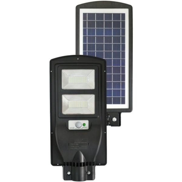 Светильник уличный фонарь на солнечной батарее с датчиком движения UKC 5622 LED Solar 60 Вт