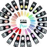 Гель-лак Kira Nails Mini №703 (серо-розовый, эмаль), фото 3