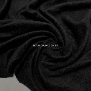 Тканина фліс чорний