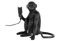 Лампа настольная Обезьяна сидит 909VXL8051B BK черная Thexata 2020