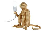 Лампа настольная Обезьяна сидит 909VXL8051B GD золотая Thexata 2020