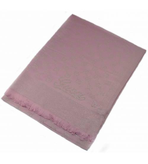 Шарф Gucci Shine розовый с золотым (реплика)