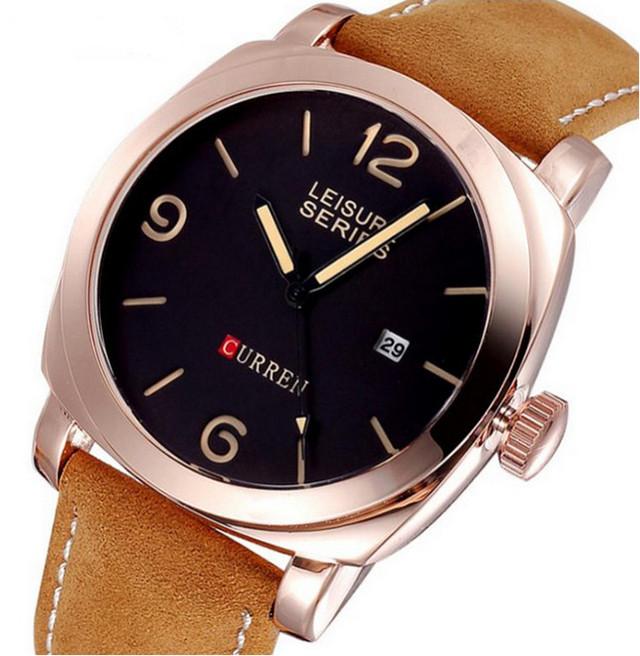 Мужские часы Curren 8158 gold
