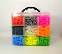 Набор резинок для плетения браслетов 3 ярусный 8000