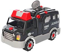 Конструктор на шурупах Limo Toy KB036 «Полицейский автомобиль»
