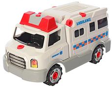 Конструктор на шурупах Limo Toy KB035 «Скорая помощь»