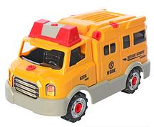 Конструктор на шурупах Limo Toy KB037 «Ремонтный автомобиль»