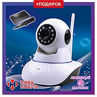 IP камера видеонаблюдения Wi-fi Smart Net Q6. Беспроводная камера с ночным режимом и управлением по сети